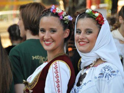 folklore festivals in the municipalities of Bor, Kucevo and Boljevac, Serbia